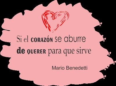 El corazón solo sirve para amar.