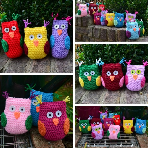 Easy Garden Owl - Free Pattern