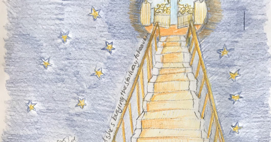 Illustration for the Stairway to Heaven