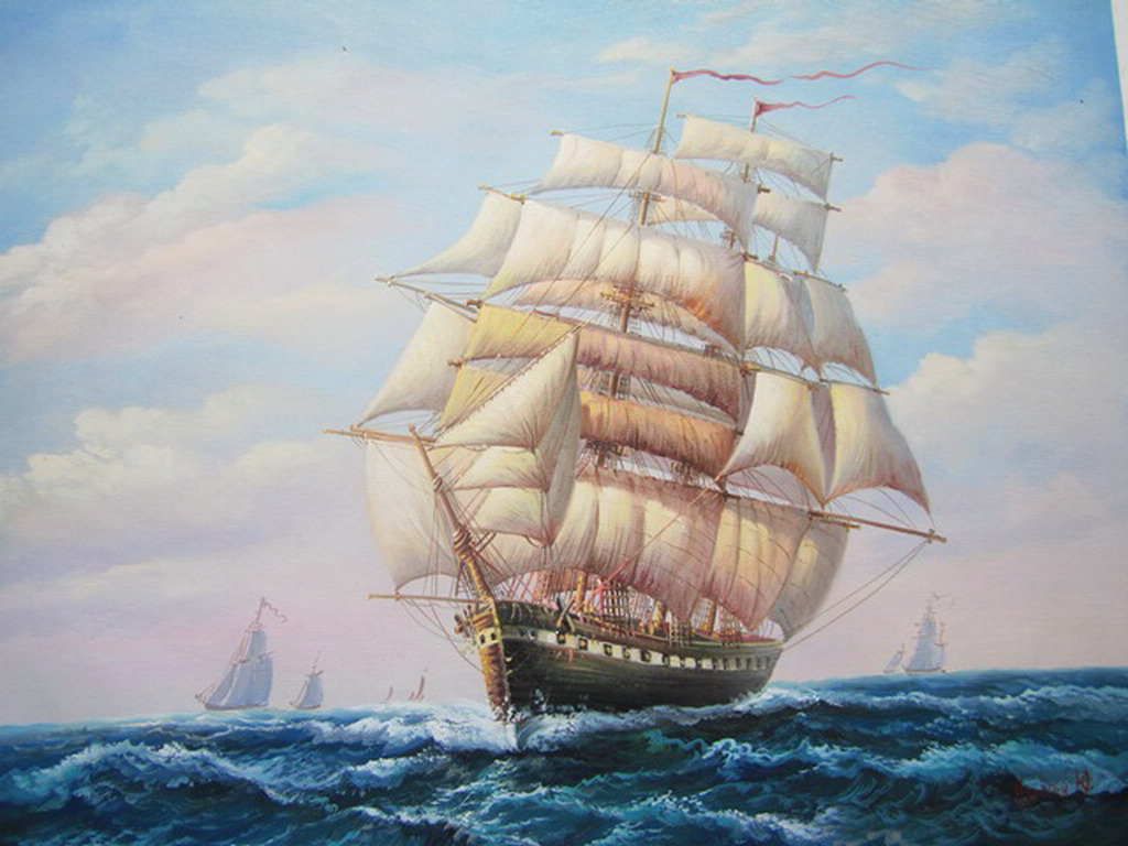 Pintura de la parte inferior del barco pintura