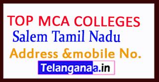 Top MCA Colleges in Salem Tamil Nadu