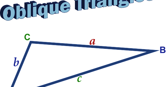 Learn to solve, easily, word problems about oblique triangles (Part 1).