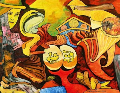 Balázs János festményei a Műcsarnokban