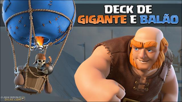 Deck de Gigante e Balão