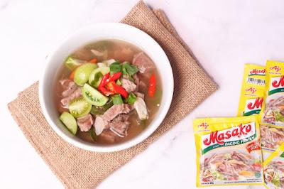 resep sup daging rempah