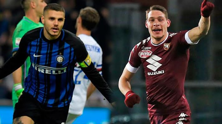 INTER-TORINO Streaming: info Facebook YouTube, dove vederla Gratis con PC SmartPhone Tablet