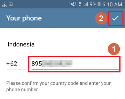 Telegram - Your phone