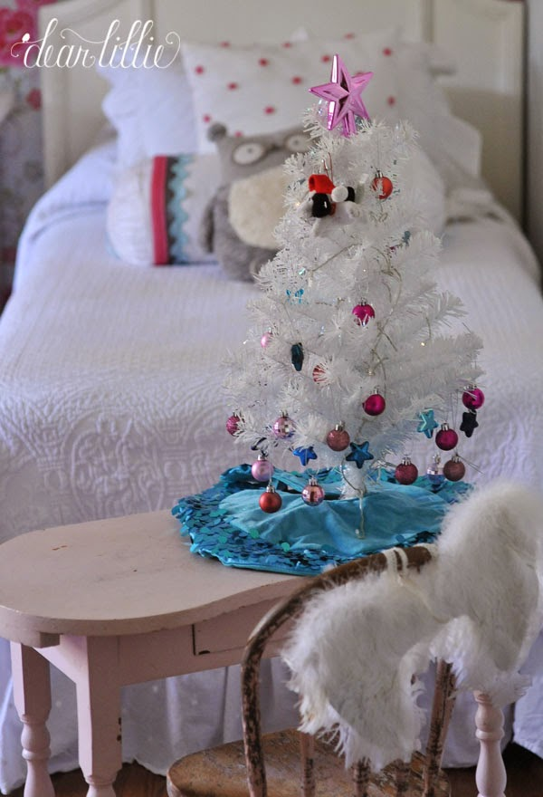 Dear Lillie The Girls Christmas Bedroom