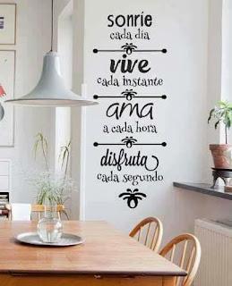 Vinilos decorativos para el hogar