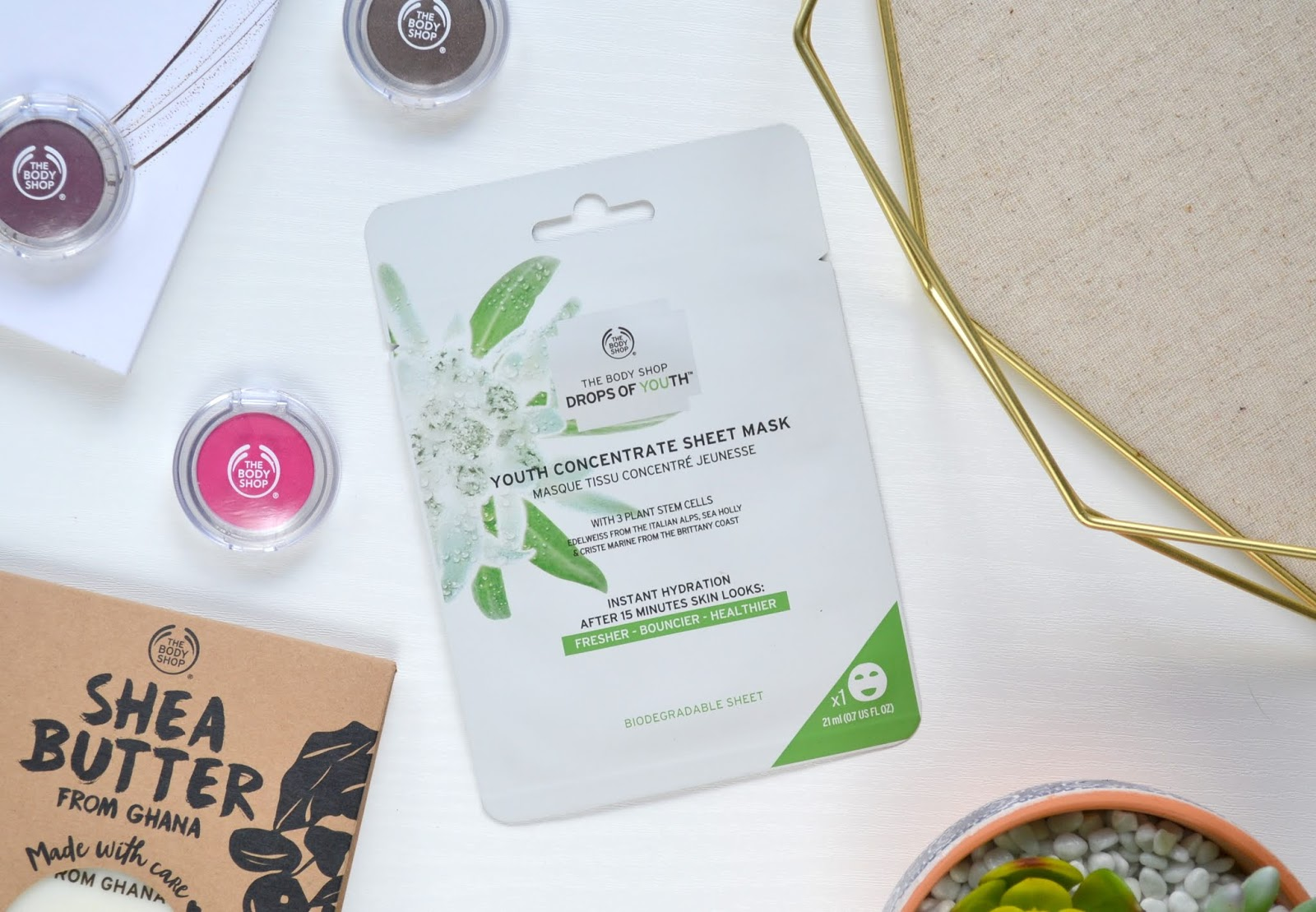 Sheet Mask The Body Shop Youth Concentrate Sheet Mask Cosmetic Proof Vancouver Beauty Nail Art And Lifestyle Blog