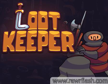 Loot Keeper é um simulador frenético para organizar inventário. Você tem o espaço de sua mochila e o espaço dos itens que vai usar. O objetivo é você organizar rapidamente e de forma precisa, para não perder itens e também para utilizar os itens certos contra os monstros certos.