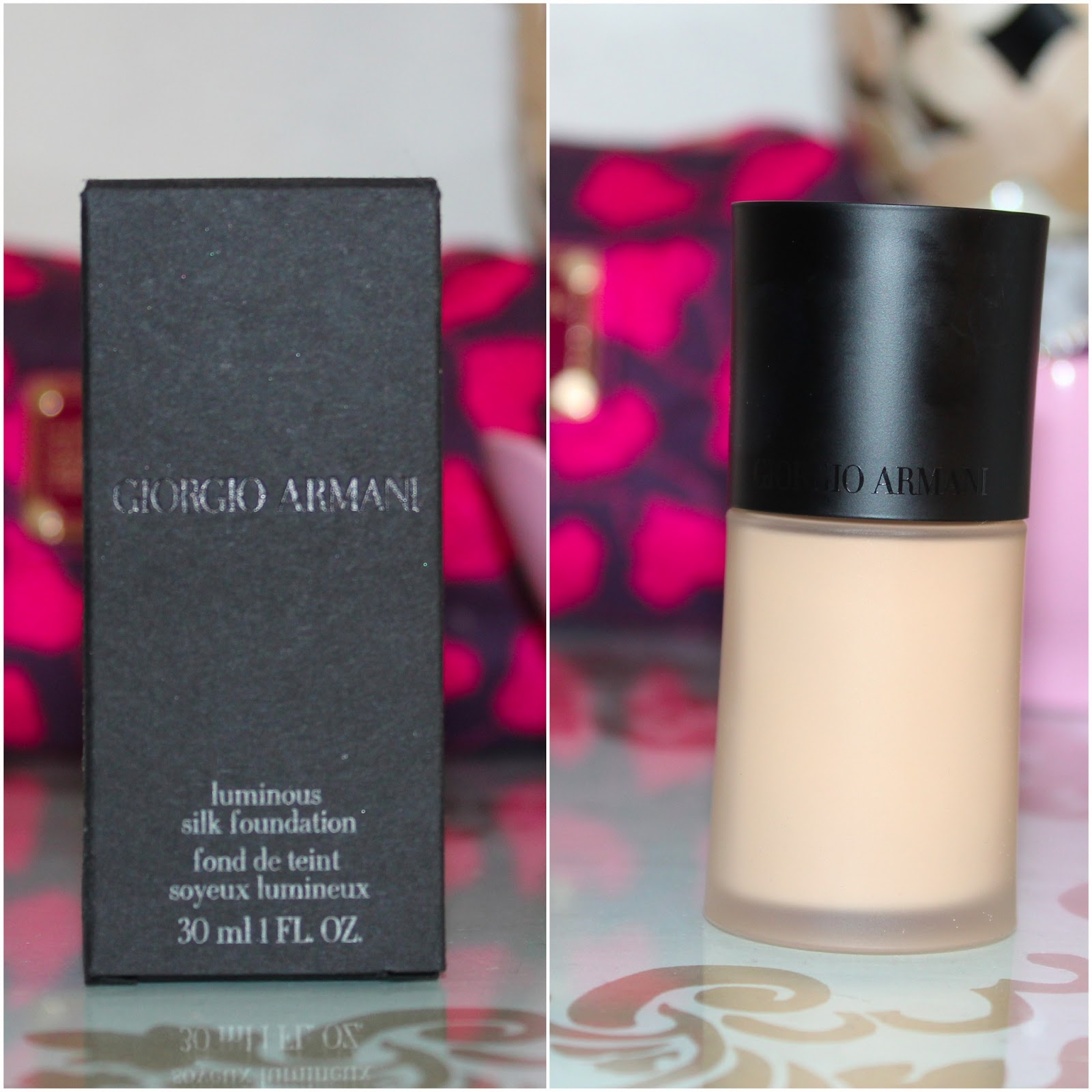 Obsessed By Beauty: REVIEW: Giorgio Armani Luminous Silk ...