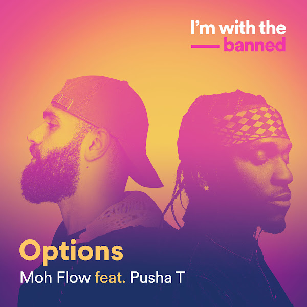 Moh Flow - Options (feat. Pusha T) - Single Cover