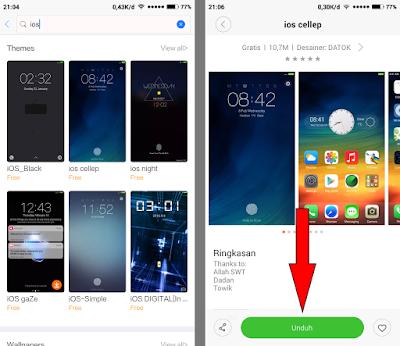Cara Mengganti Tema Xiaomi Menjadi Tema iOS (iPhone) 12