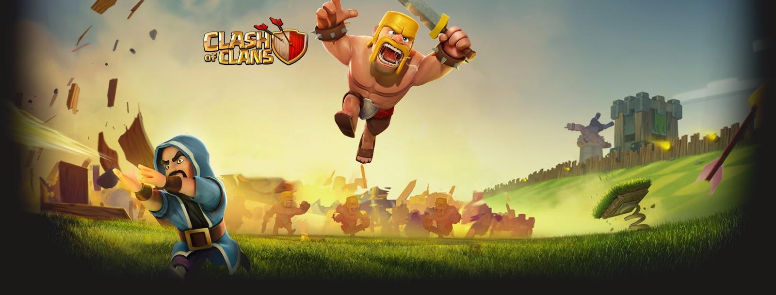 Barbarian Clash Of Clans Hd Hd Games 4k Wallpapers: Clash Of Clans HD Wallpapers