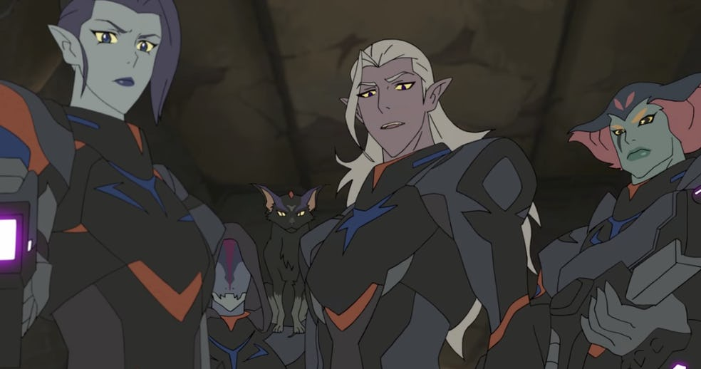 Prince Lotor Rallies His Troops In The New Voltron: Legendary Defender Promo Video