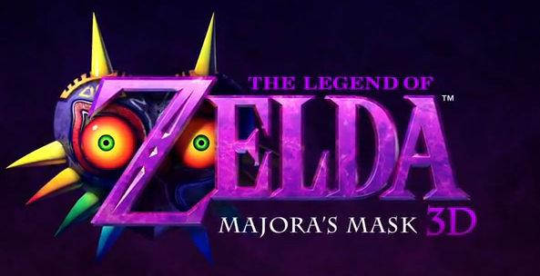 The Legend of Zelda: Majora's Mask 3D for Nintendo 3DS logo