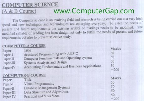 Download Paper Codes and Titles of B.Sc. Double Computer Islamia University IUB Bahawalpur