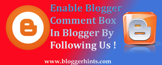 How To Enable Comments On Blogger-Blogspot