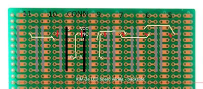 LED Board Diagram