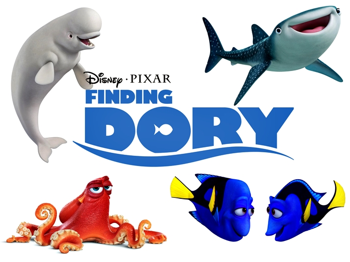 Póster: Finding Dory
