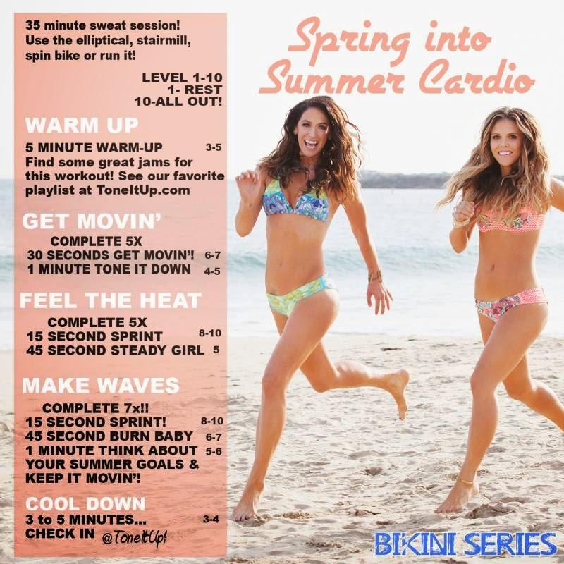 Bikini work out video