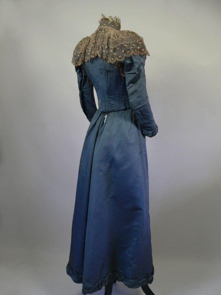 All The Pretty Dresses Beautiful 1890 S Blue Dress With Lace
