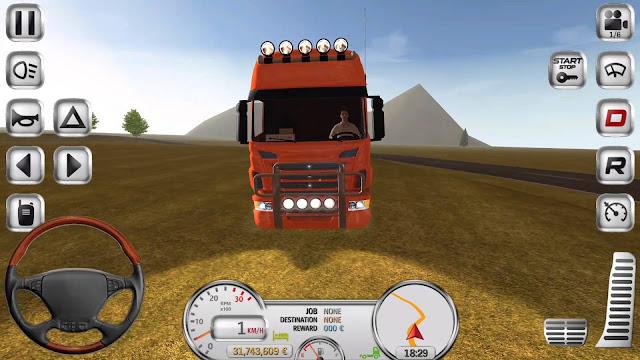 تحميل لعبة Euro Truck Driver مهكرة جاهزة,Euro Truck Driver v1.5.0 (MOD, unlimited money),تحميل لعبة Euro Truck Driver مهكرة مال غير محدود