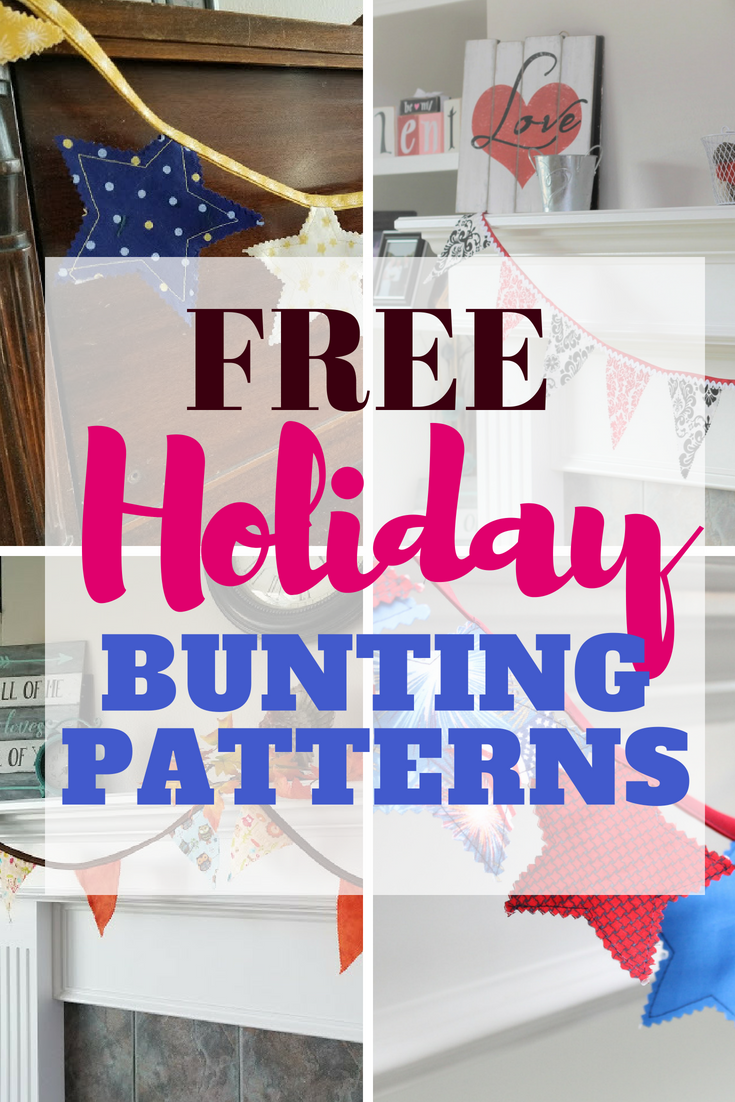 How To Make Holiday Bunting Free Template Gyct Designs