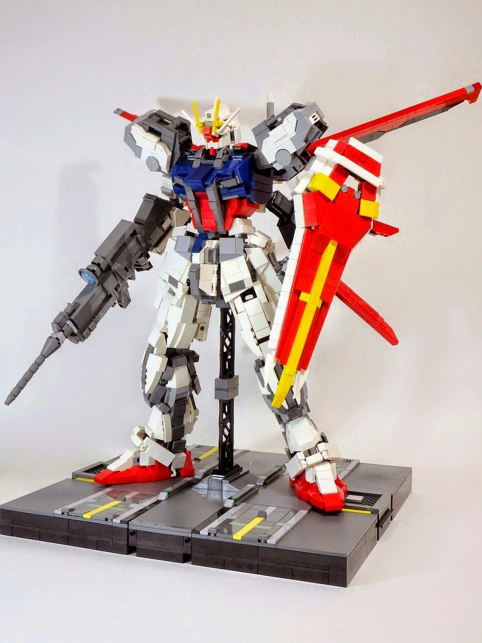 How To Build A Lego Gundam
