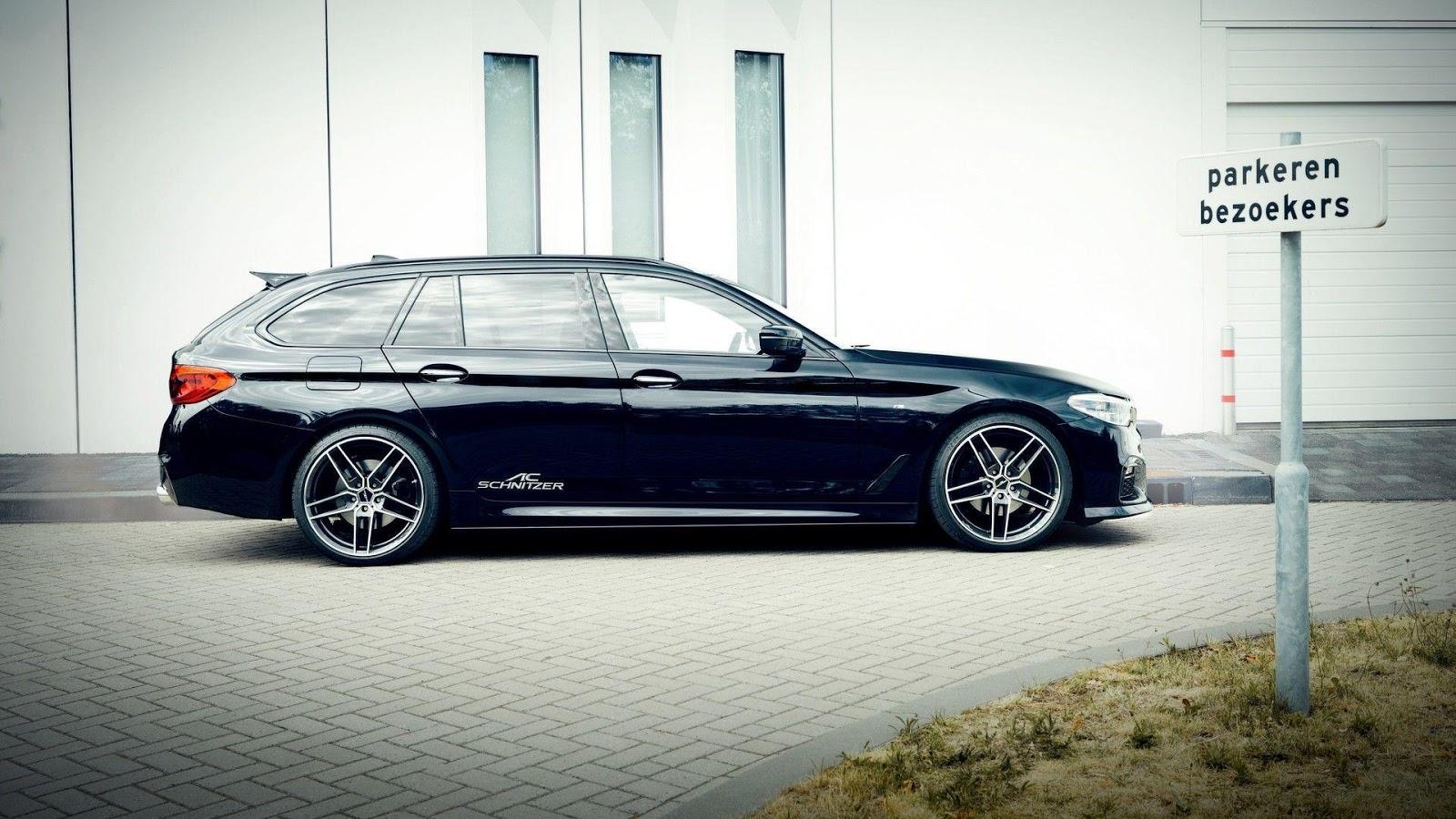 AC Schnitzer Works Its Magic On New BMW 5-Series