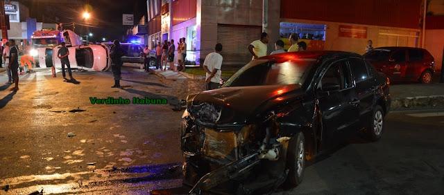 Acidente na Juracy Magalhães deixa vários feridos