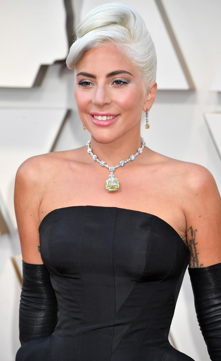 Lady Gaga 2019 Oscar Red Carpet
