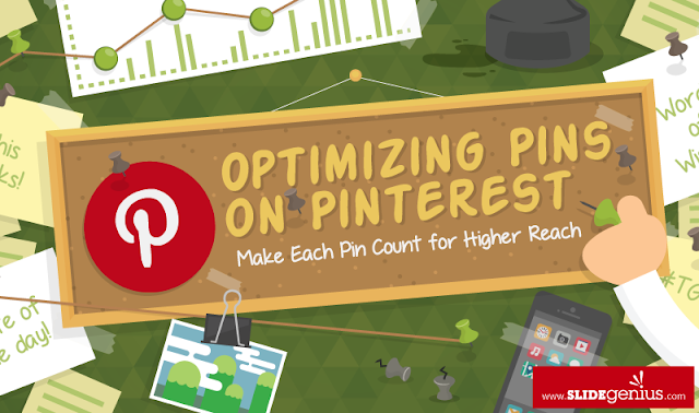 Optimizing Pins on Pinterest: Make Each Pin Count for Higher Reach - #infographic