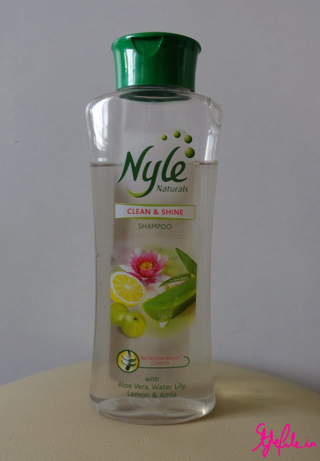 nyle clean and shine shampoo, nyle, shampoo, herbal,