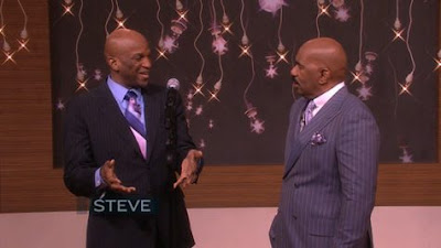 Steve Harvey Says Donnie McClurkin Is Concerned About His Soul
