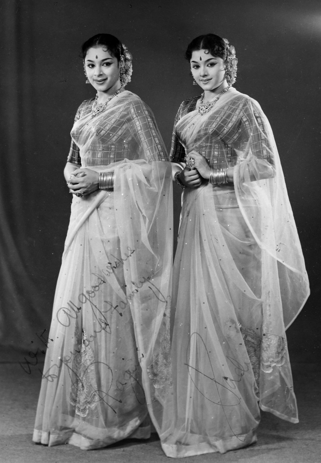 Two of the Travancore sisters trio - Ragini and Padmini
