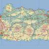 Peta Pulau Jawa Lengkap dengan keterangannya