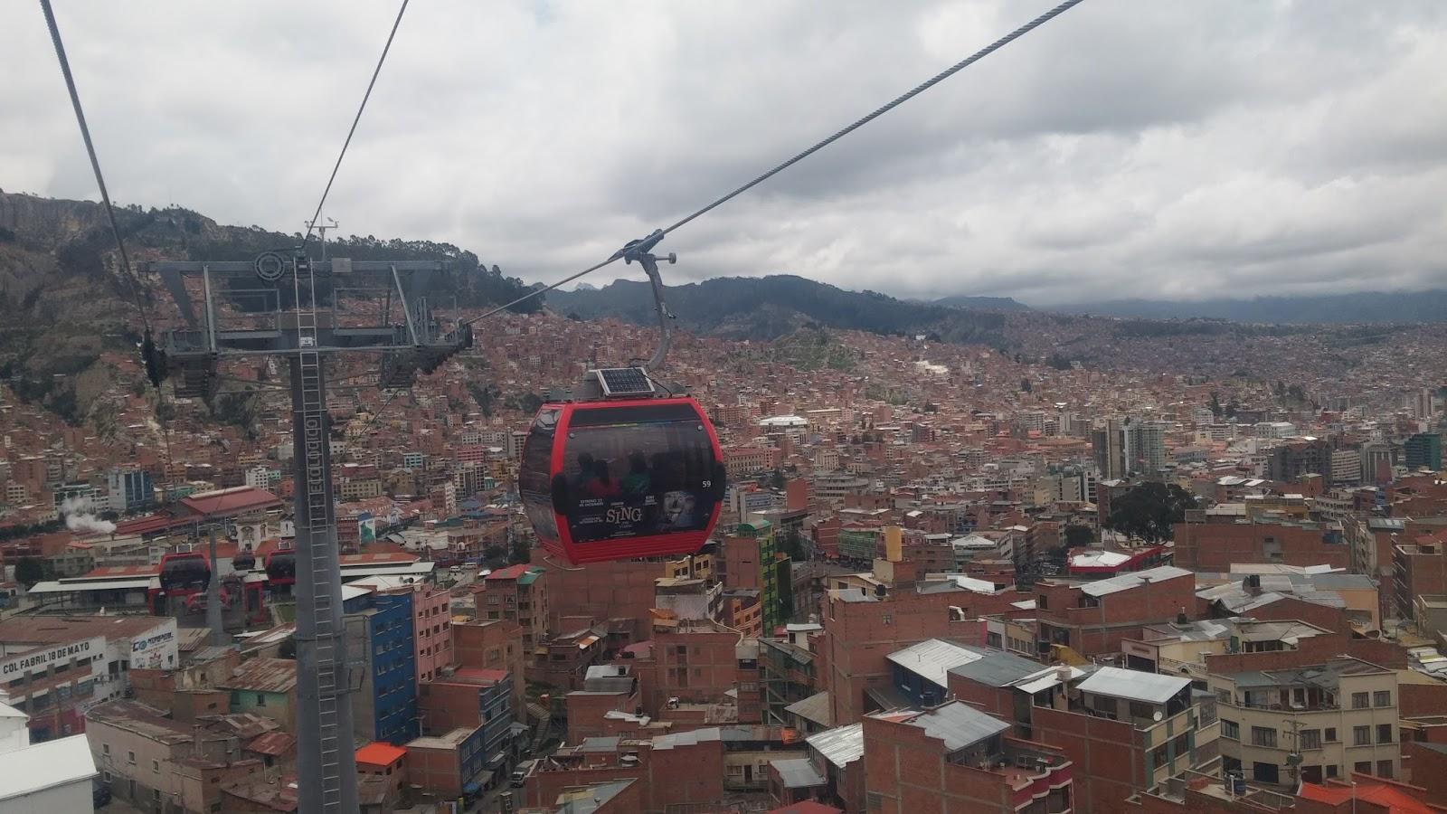 Operazione valigia di cartone la bolivia vista dagli for Vista sulla valle cabine colline hocking