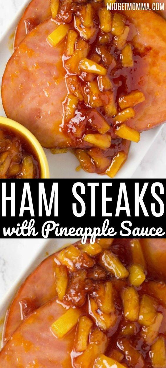 Easy Ham Steaks