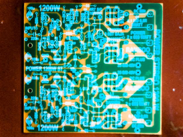 1200W power amplifier with sanken Layout