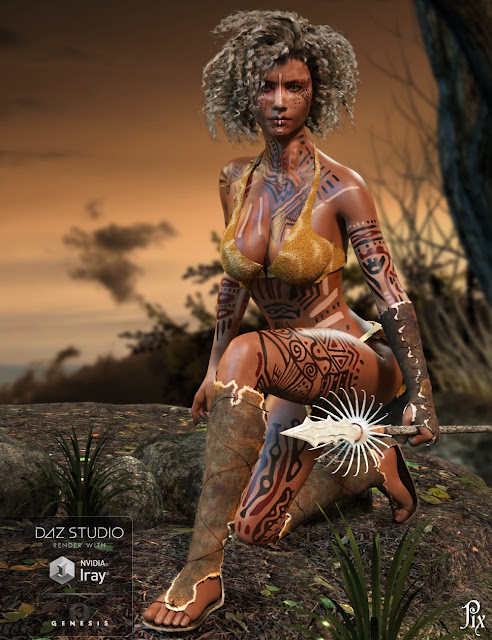 Pix Ageera for Genesis 3 Female