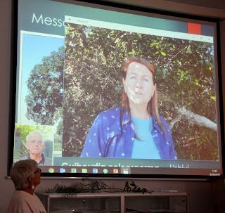 Coleen Mannheiner, speaking from New Zealand
