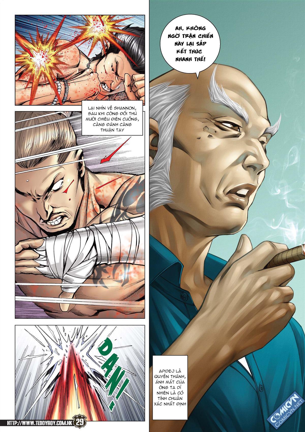 Người Trong Giang Hồ chapter 2143: ác chiến vua muay thai trang 27