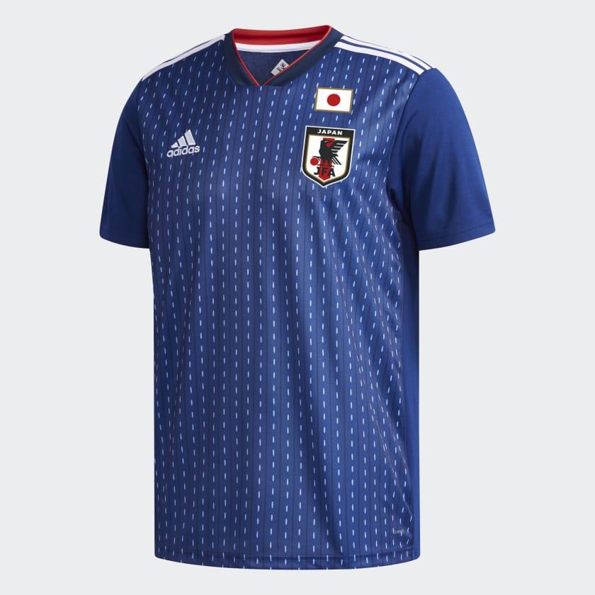 Kits Jersey Home Kandang Jepang Piala Dunia 2018