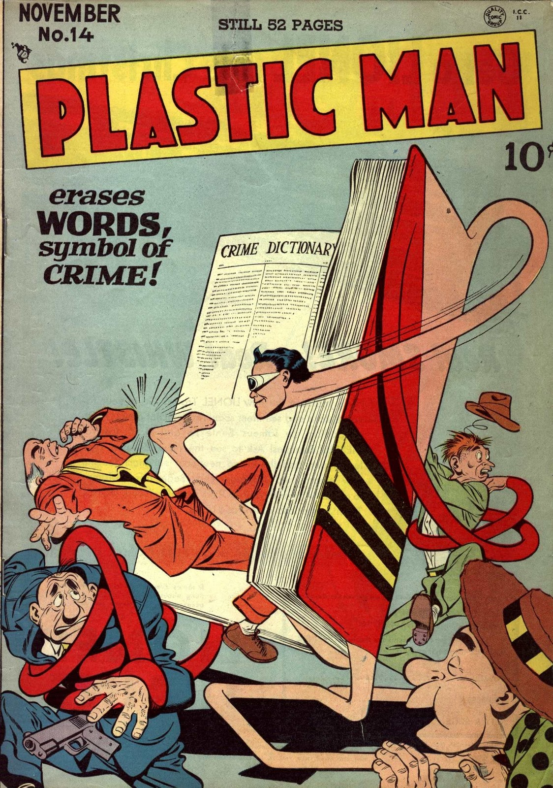 Top 5 Funniest Superheroes - Plastic Man