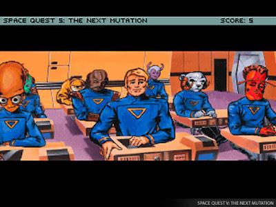 Videojuego Space Quest V