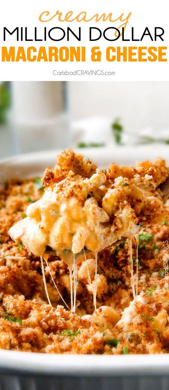 Million Dollar Macaroni and Cheese Casserole #million #dollar #macaroni #cheese #casserole