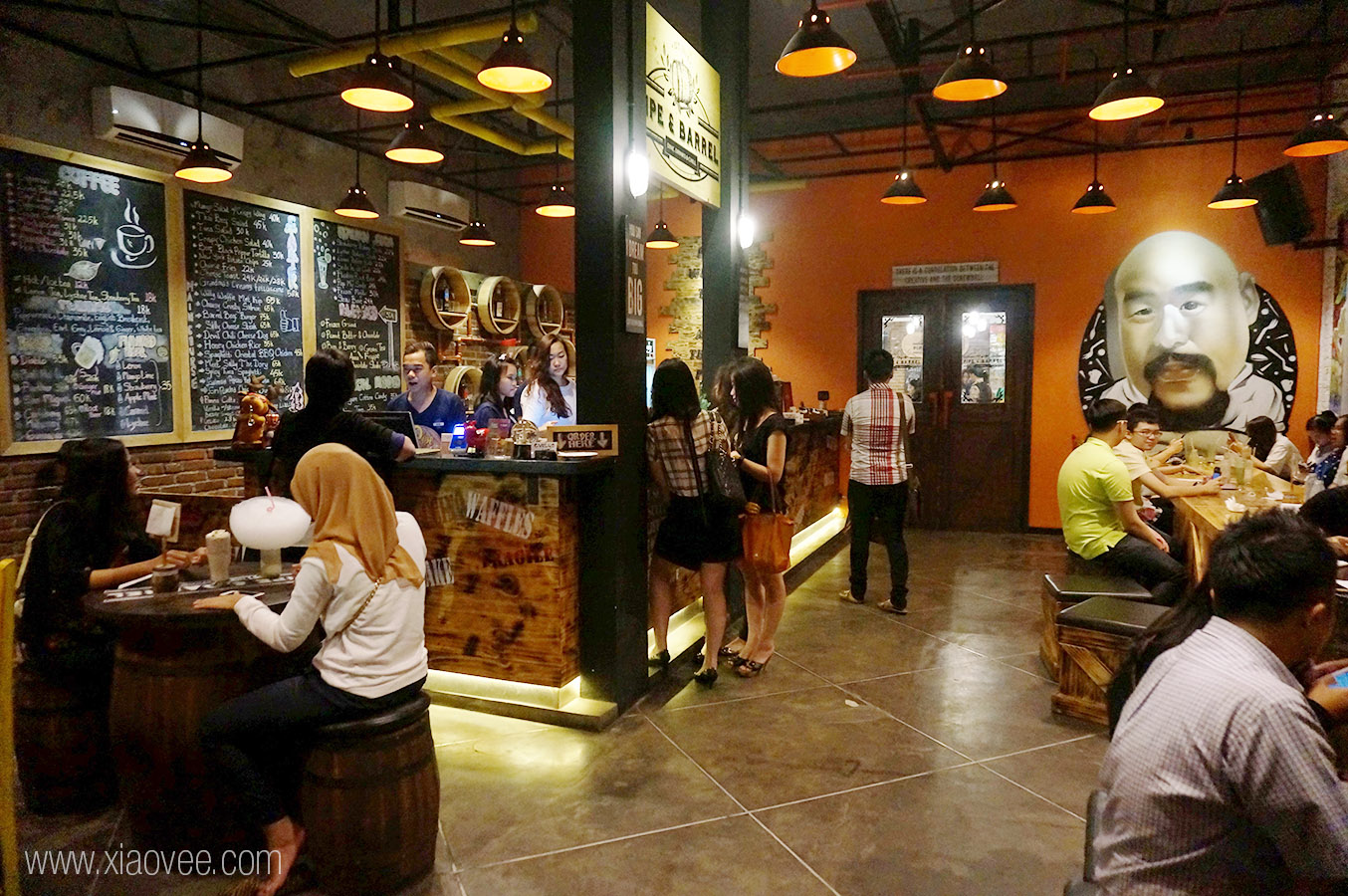 Restoran Pipe & Barrel (xiaovee.com)