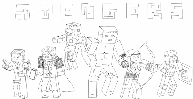 Minecraft Coloring And